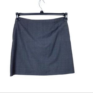 Brooks Brothers Gray Skirt Size 8